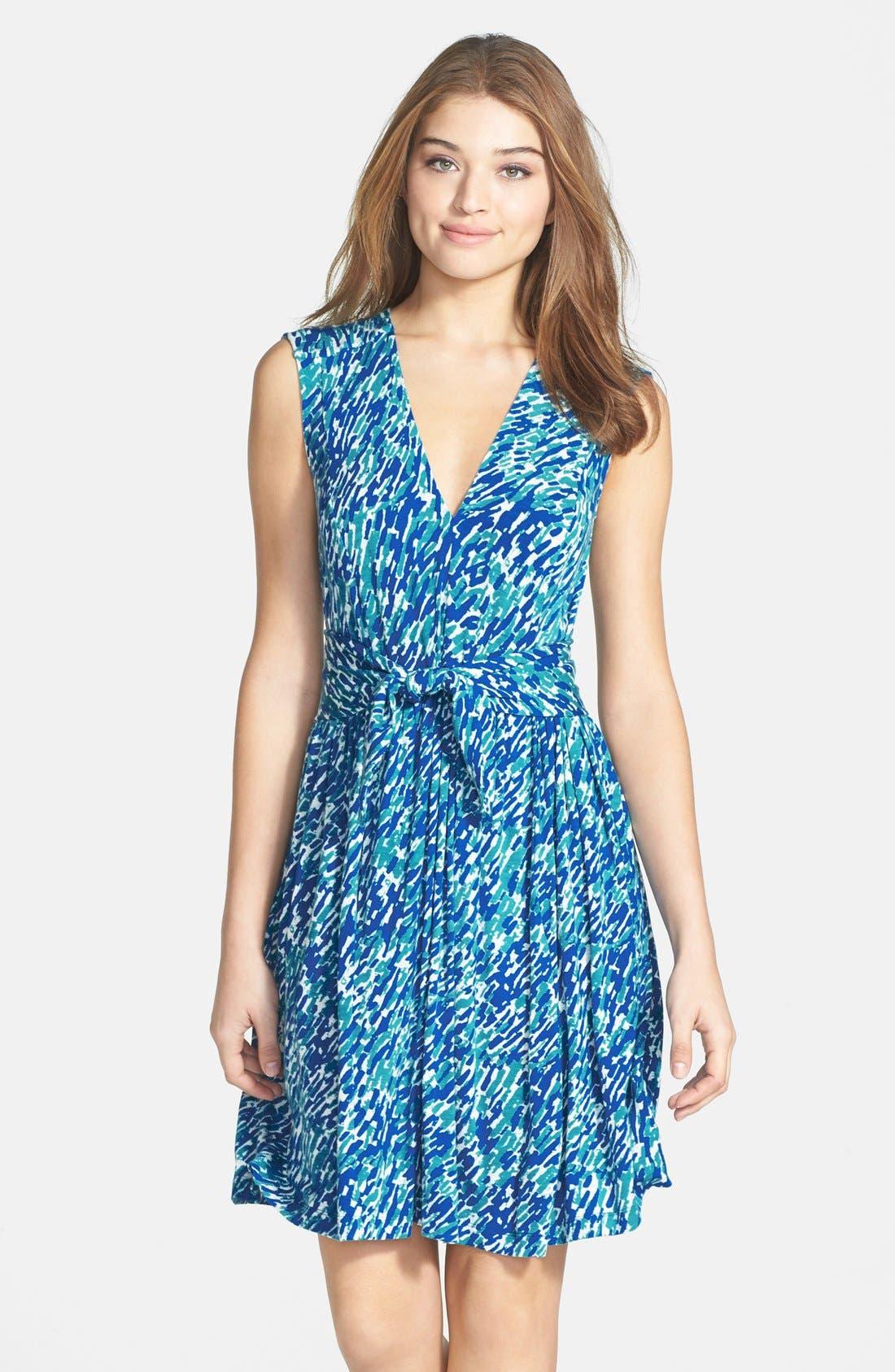 Main Image - Plenty by Tracy Reese 'Joanne' Print Jersey Fit & Flare Dress