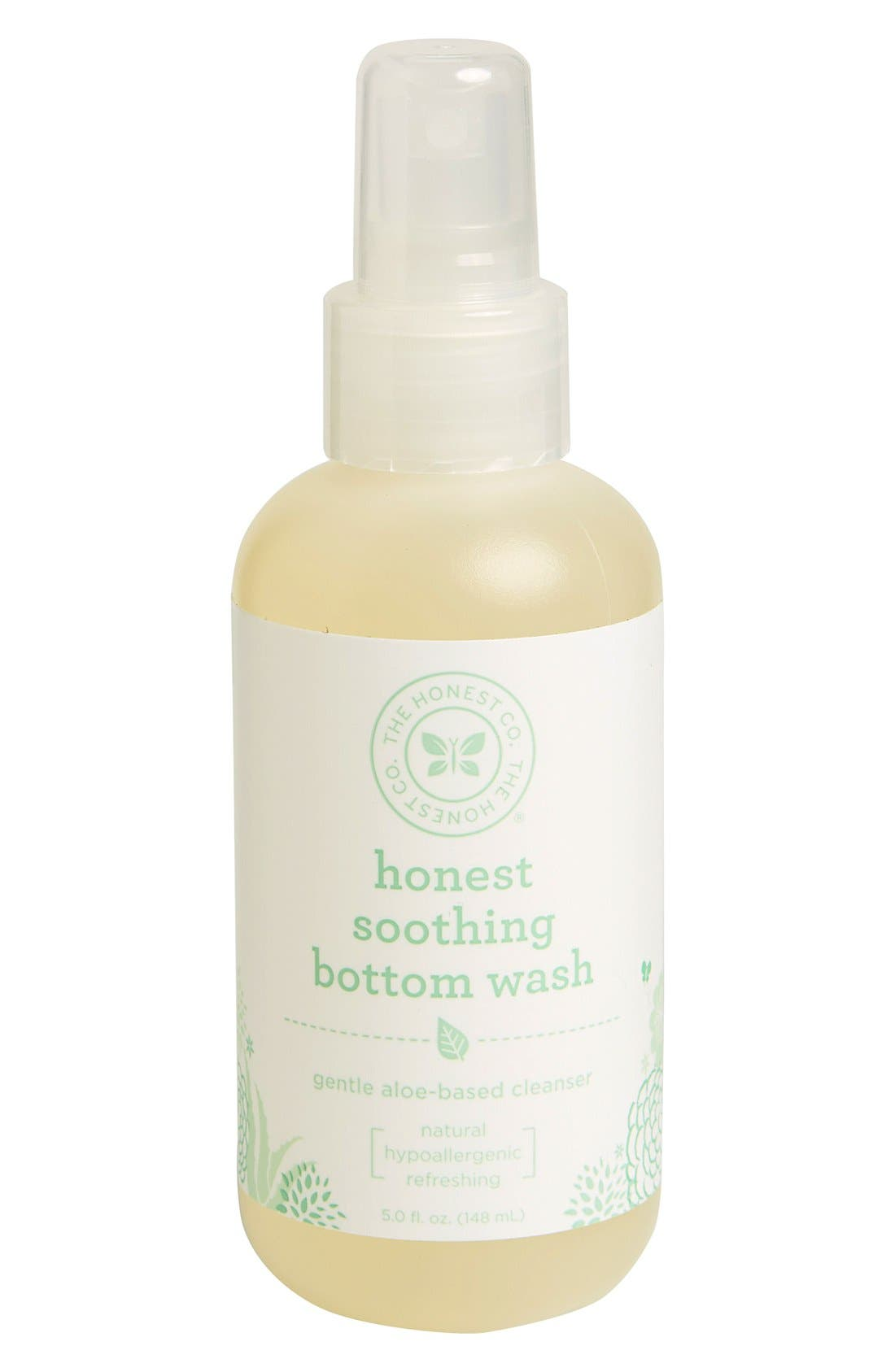 Soothing Bottom Wash,                         Main,                         color, White