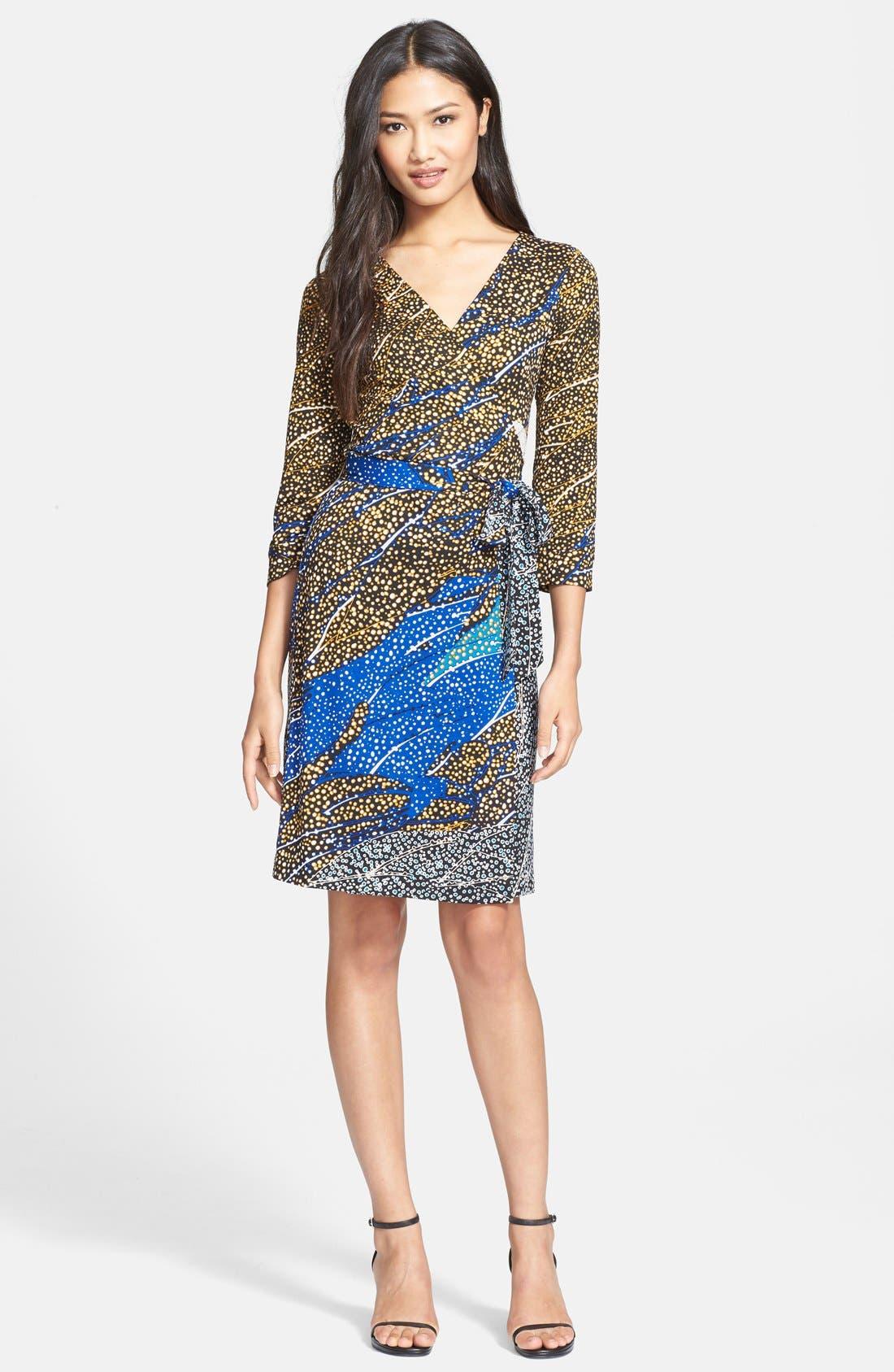 Alternate Image 1 Selected - Diane von Furstenberg 'New Julian Two' Silk Jersey Wrap Dress