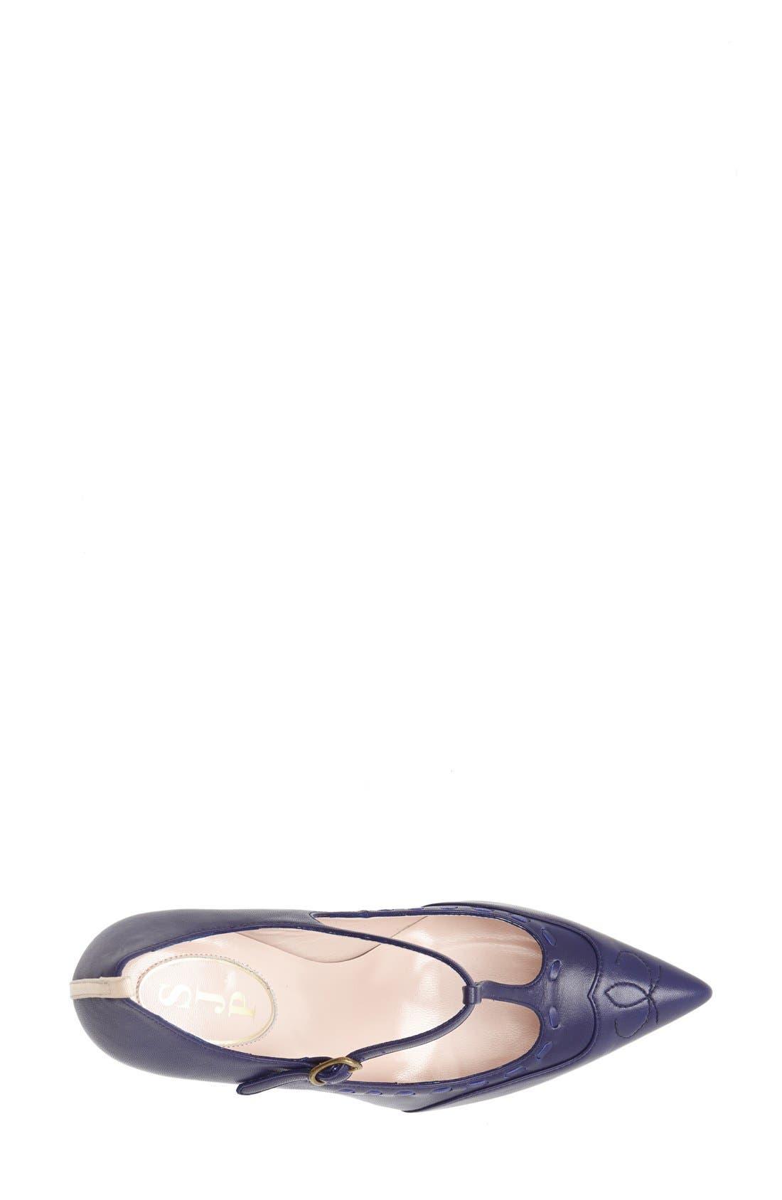 Alternate Image 4  - SJP 'Blythe' Leather T-Strap Mary Jane Pump (Women)