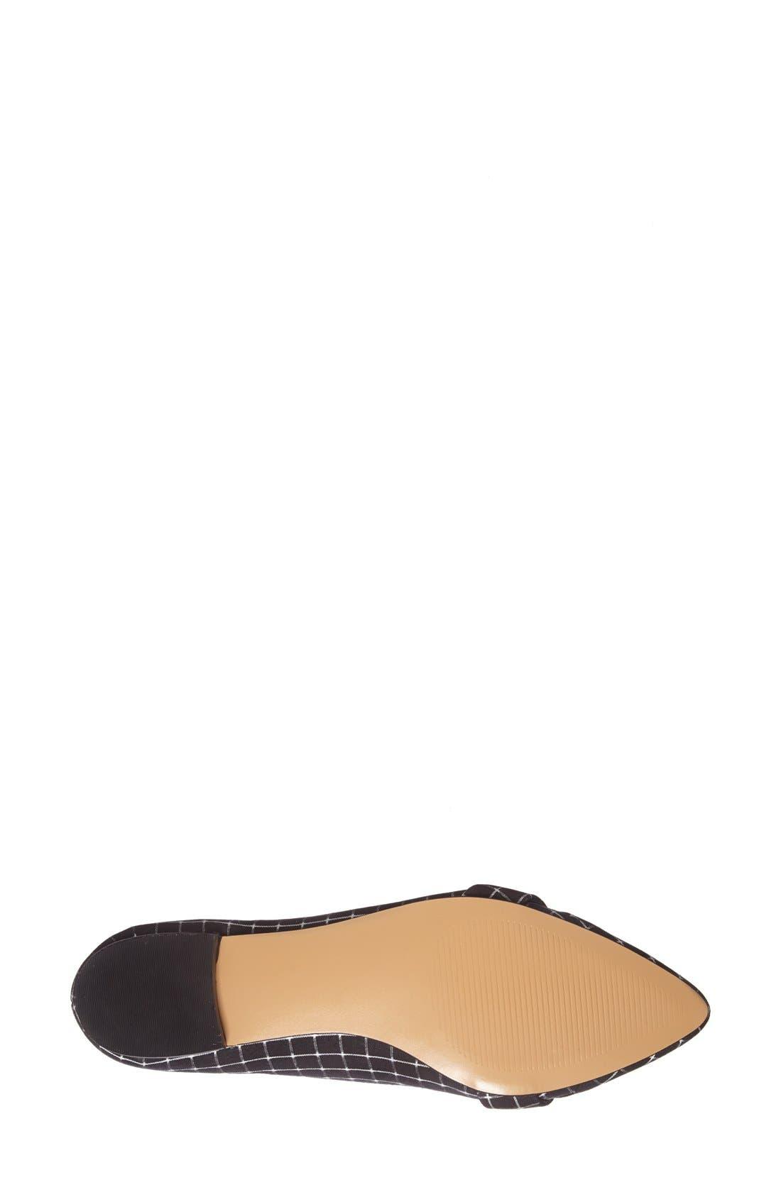 Alternate Image 4  - Sole Society 'Celia' Pointy Toe Flat