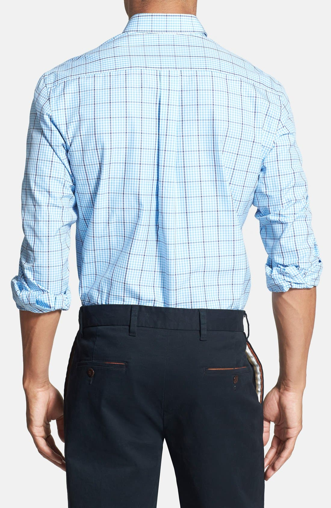Alternate Image 2  - Vineyard Vines 'Whale - Pembroke Plaid' Regular Fit Sport Shirt