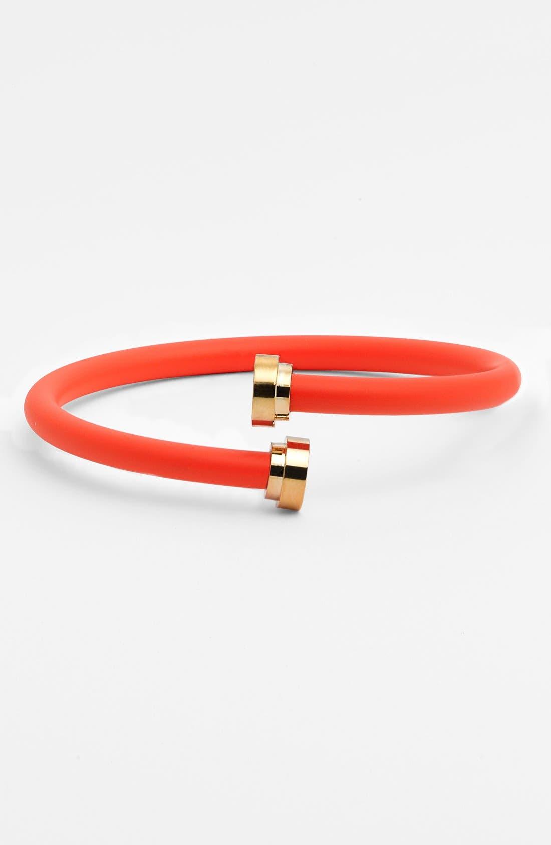 Coil Bracelet,                         Main,                         color, Orange Glow