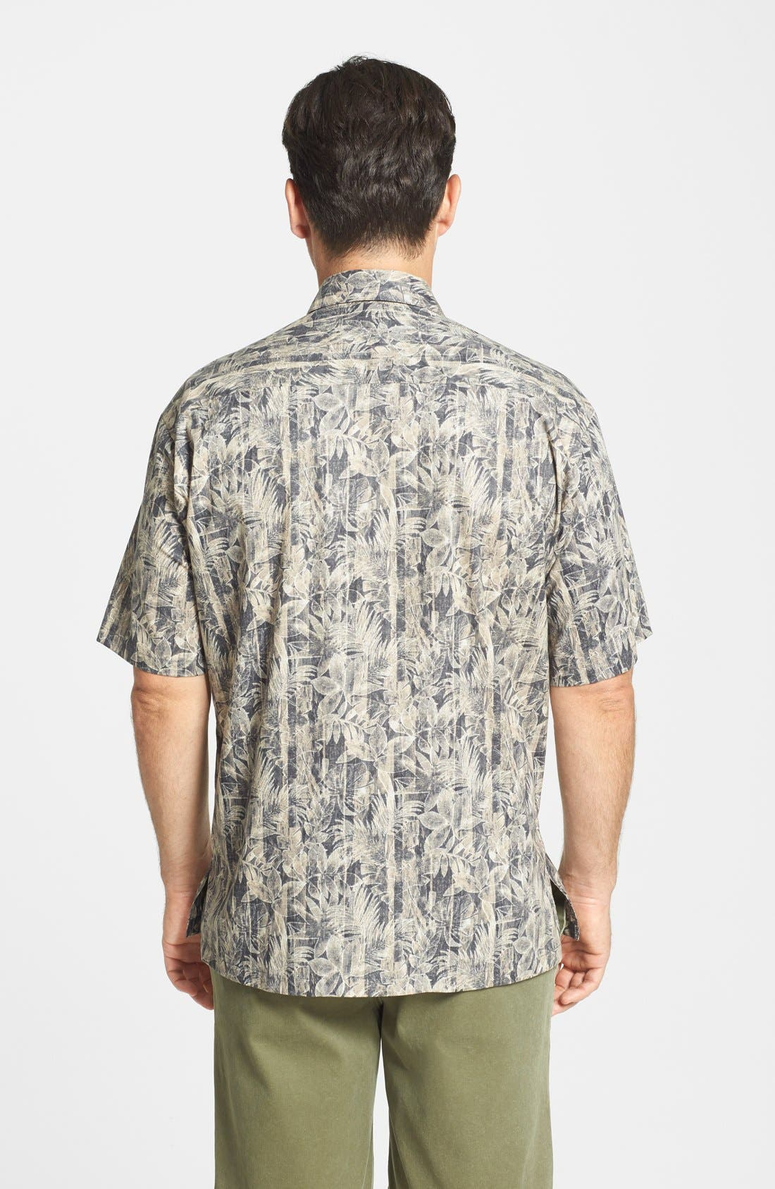 Alternate Image 2  - Tori Richard 'Woodwork' Classic Fit Cotton Lawn Campshirt