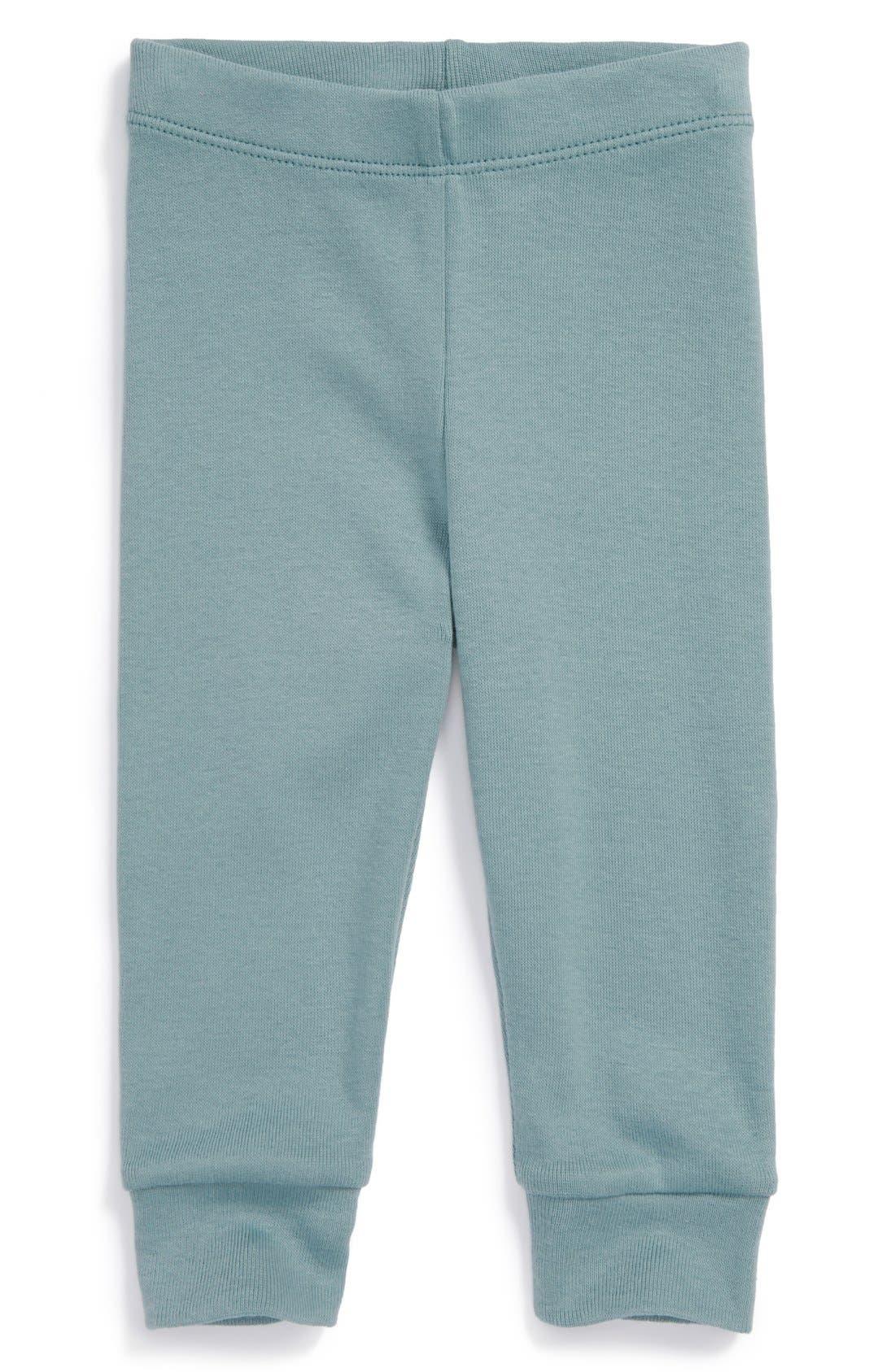 Main Image - Tea Collection Rib Knit Pants (Baby Boys)