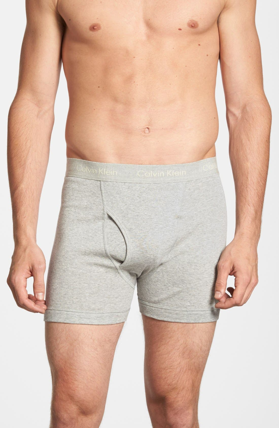 Alternate Image 3  - Calvin Klein 3-Pack Boxer Briefs