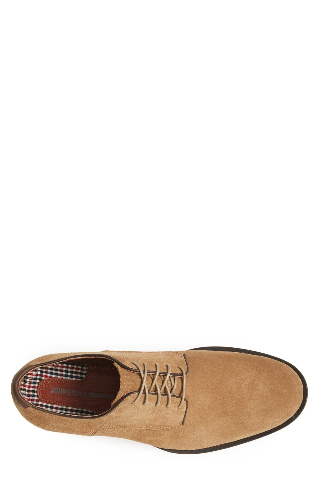 Alternate Image 3  - Johnston & Murphy 'Ellington' Suede Buck Shoe (Men)