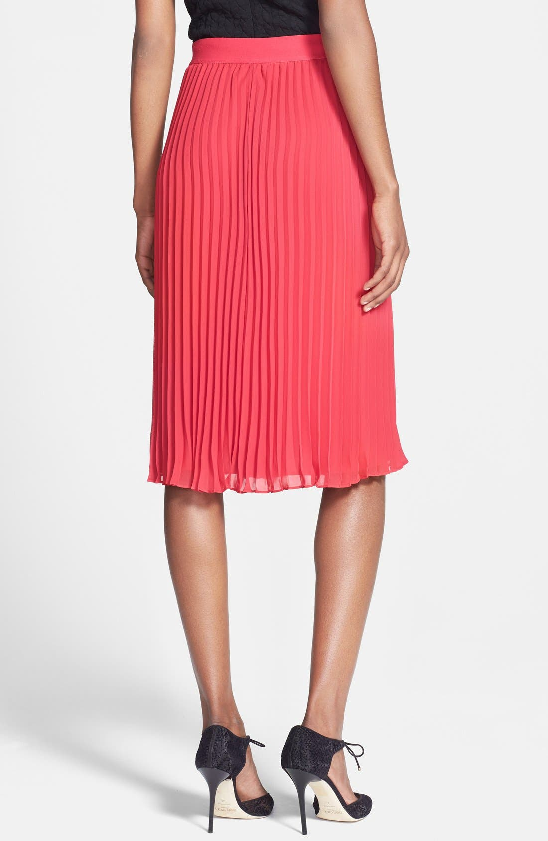 Alternate Image 2  - Chelsea28 Pleated Midi Skirt