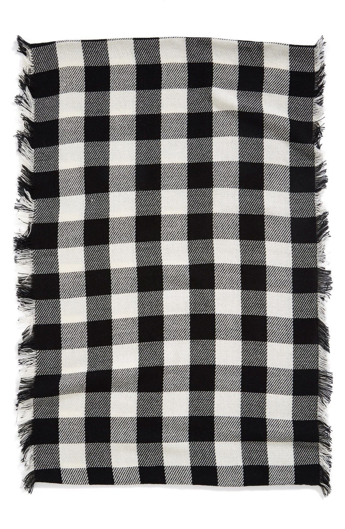 Alternate Image 2  - Steve Madden Buffalo Plaid Infinity Scarf