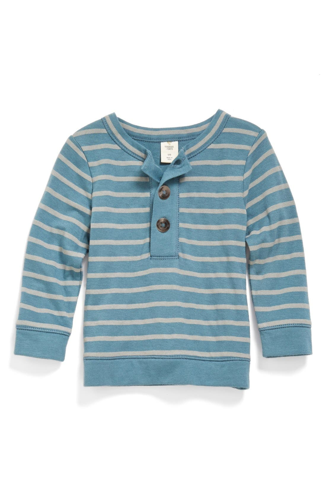 Alternate Image 1 Selected - Tucker + Tate Double Knit Henley (Baby Boys)