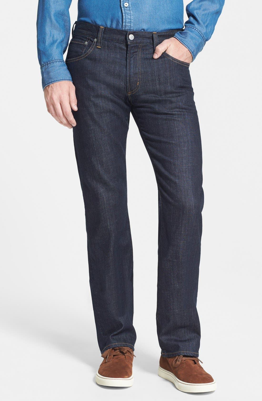 Sid Classic Straight Leg Jeans,                             Main thumbnail 1, color,                             Ultimate Wash