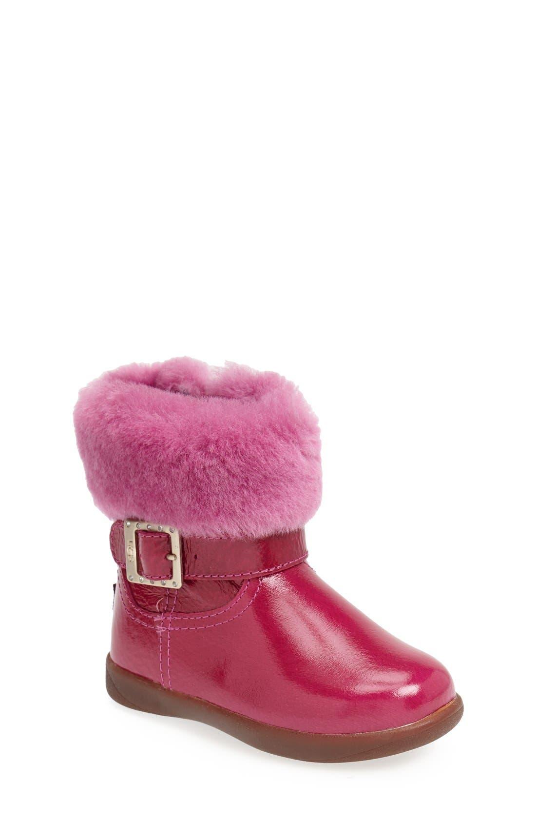 Alternate Image 1 Selected - UGG® Gemma Boot (Walker & Toddler)