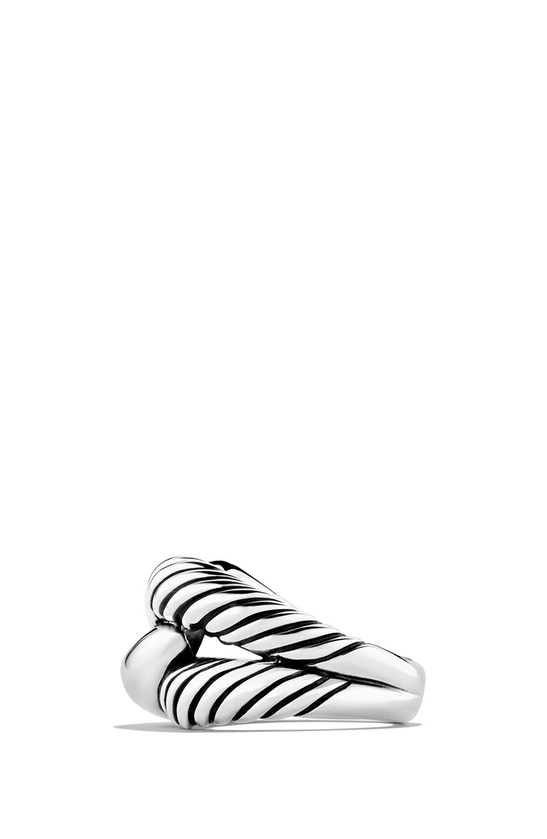 'Infinity' Large Ring,                             Alternate thumbnail 3, color,                             Silver