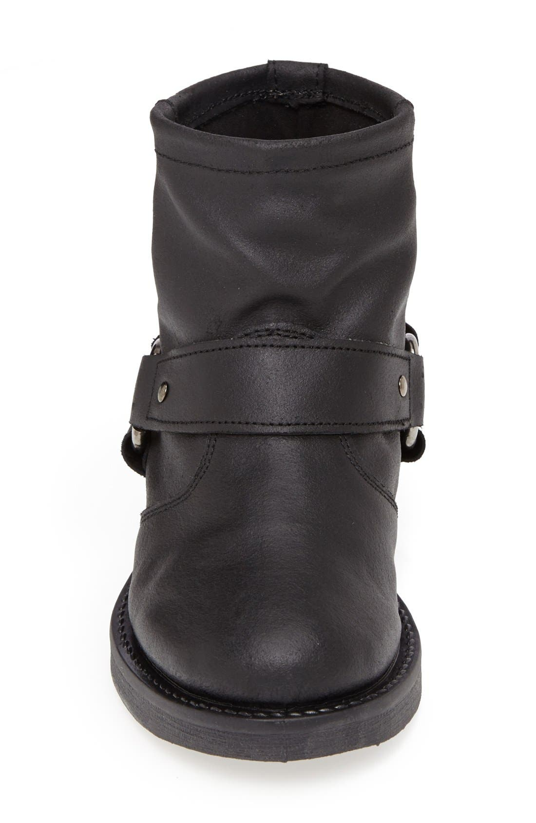 Alternate Image 3  - Topshop 'Buster' Leather Harness Biker Boot (Women)