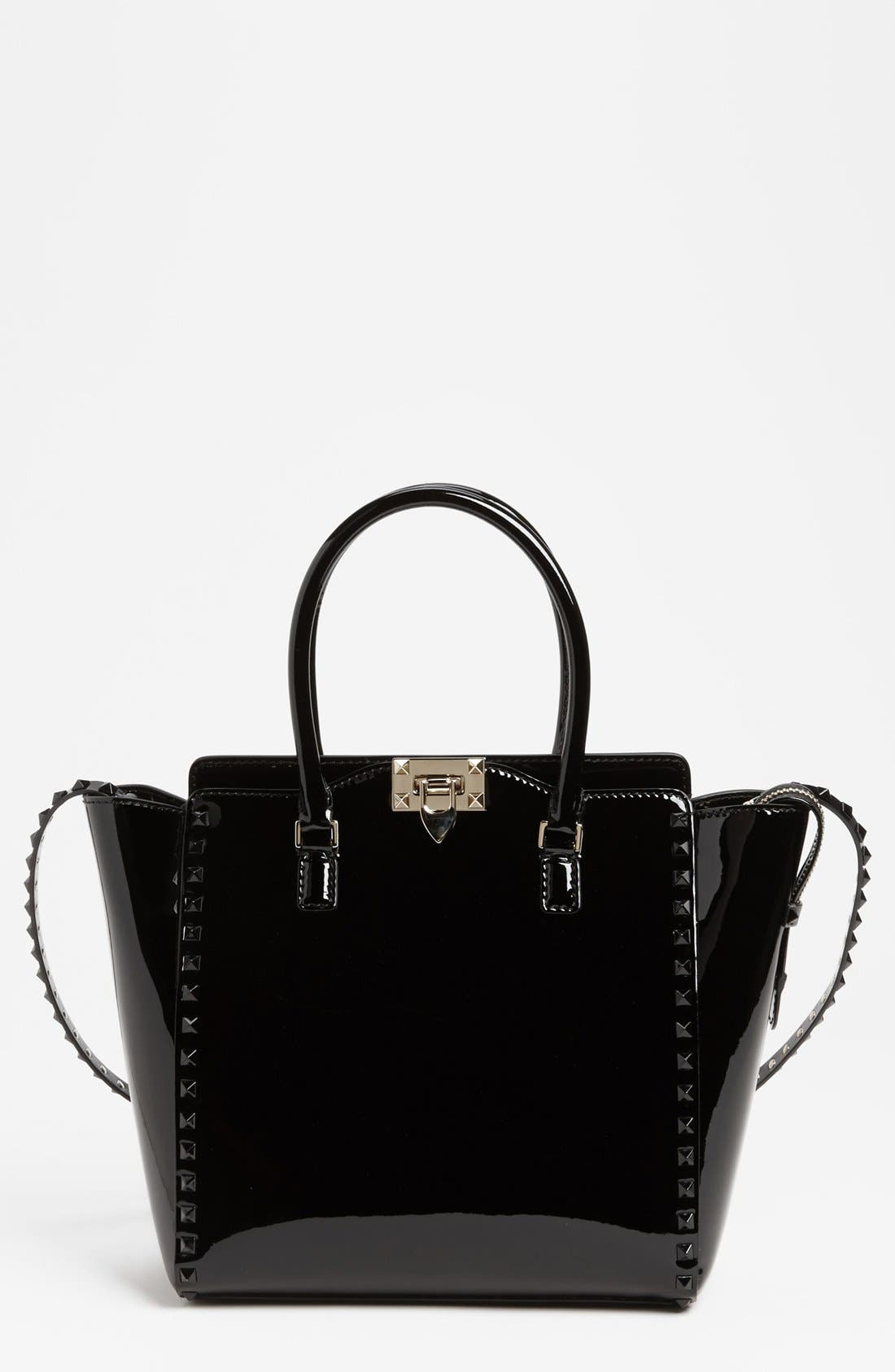 Alternate Image 1 Selected - Valentino 'Punkouture' Double Handle Tote