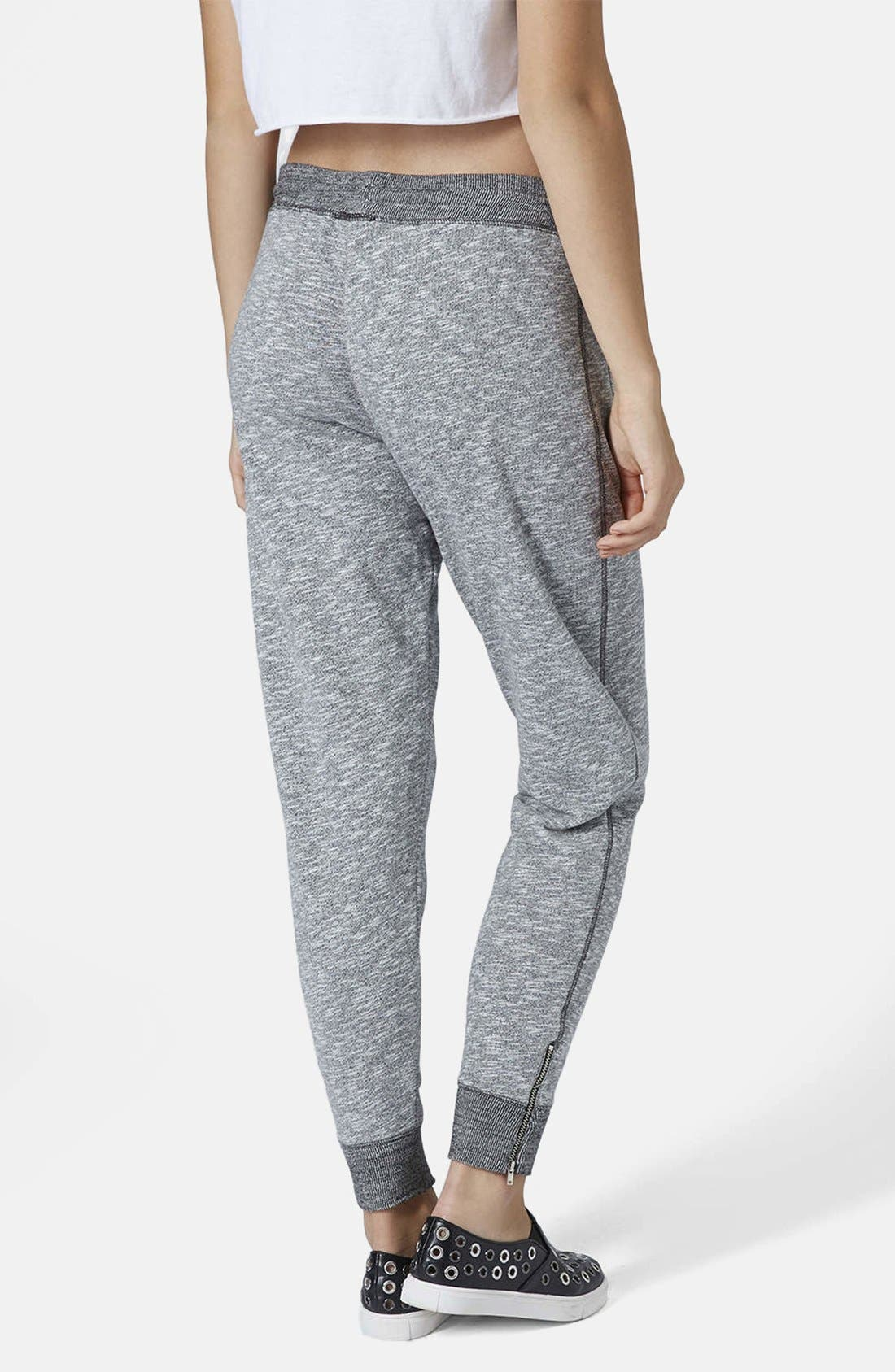 Alternate Image 2  - Topshop Marled Jogger Pants
