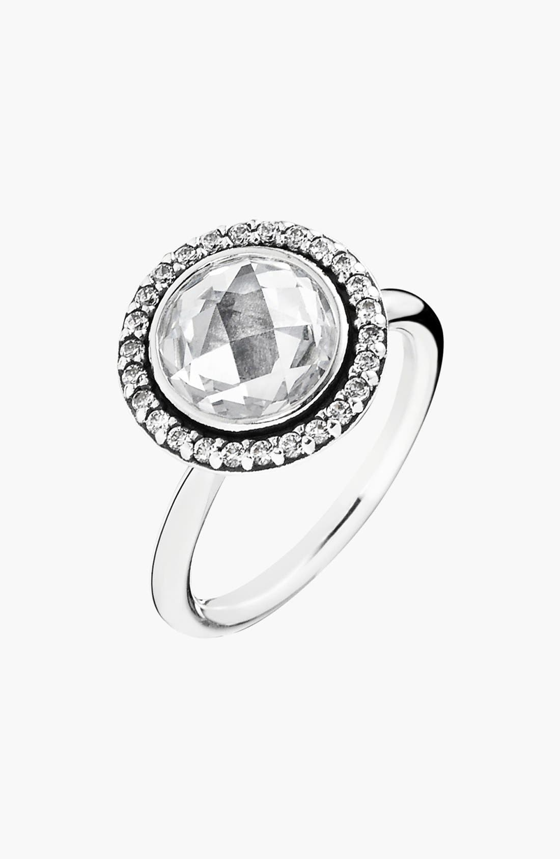 Alternate Image 1 Selected - PANDORA 'Brilliant Legacy' Cocktail Ring