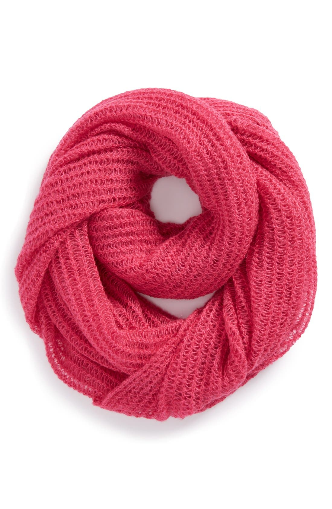 'Pianissimo' Infinity Scarf,                         Main,                         color, Magenta