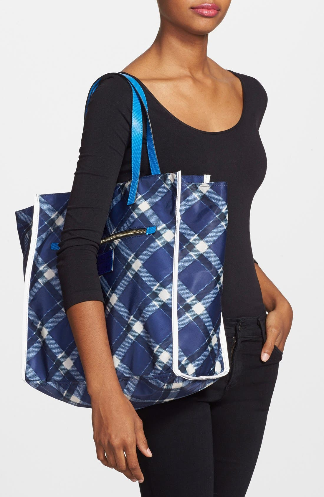 Alternate Image 2  - MARC BY MARC JACOBS 'Marc It Plaid' Tote