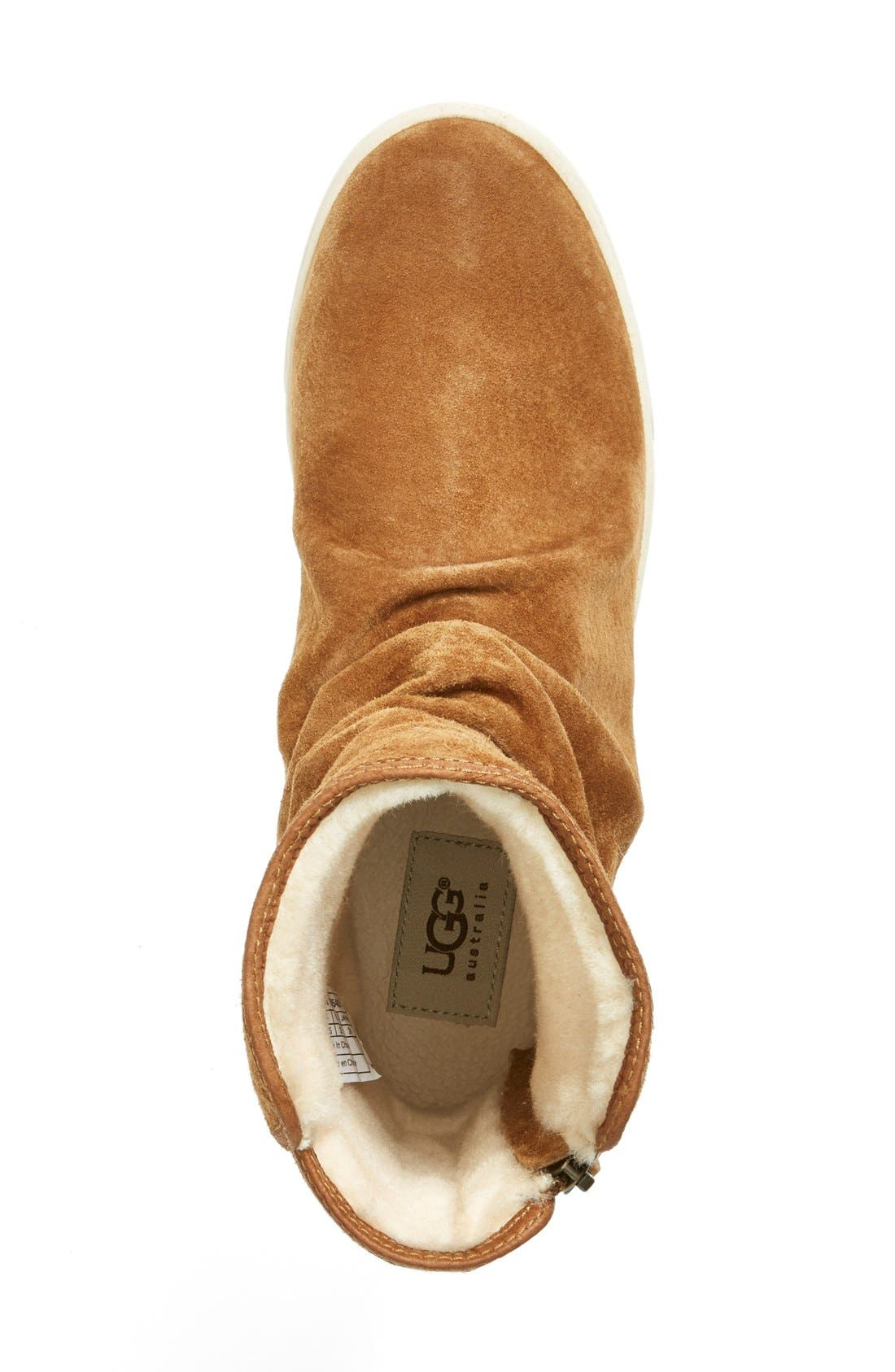 Alternate Image 5  - UGG® Australia 'Becky' Water Resistant Suede Boot (Women)