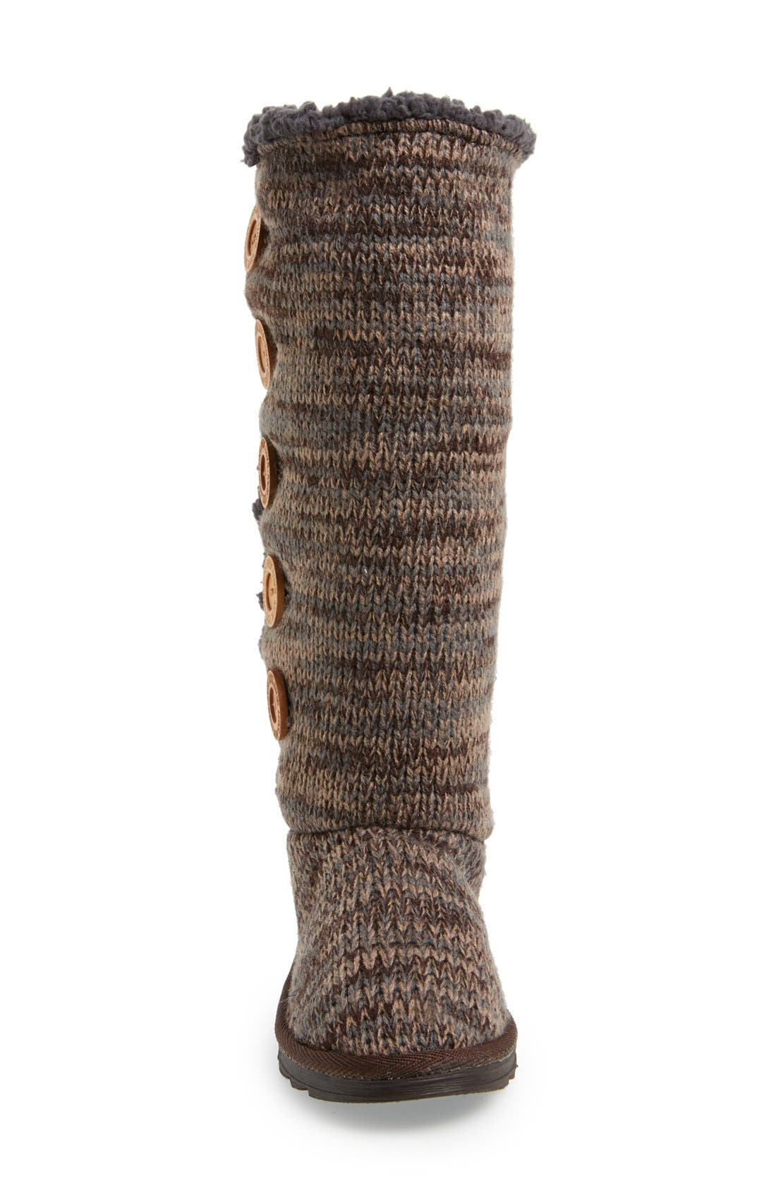 Alternate Image 3  - MUK LUKS 'Malena' Button Up Crochet Boot (Women)