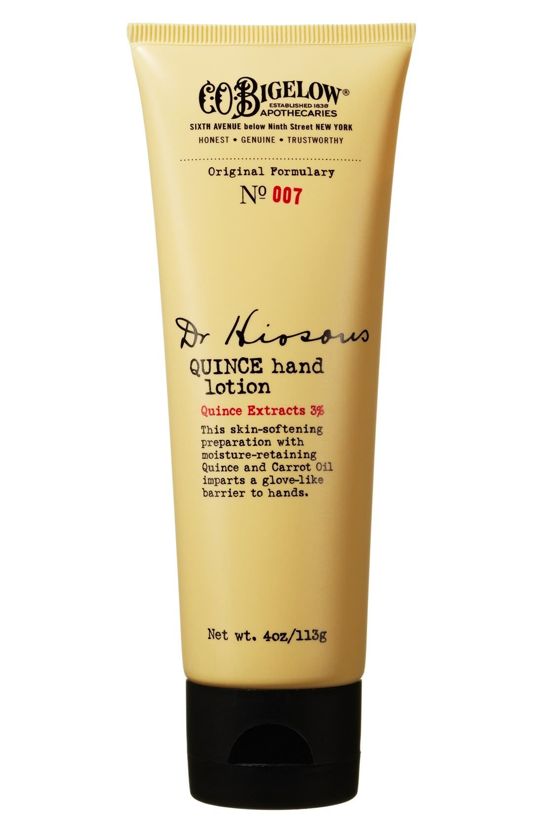 C.O. Bigelow® 'Dr. Hiosous' Quince Hand Lotion