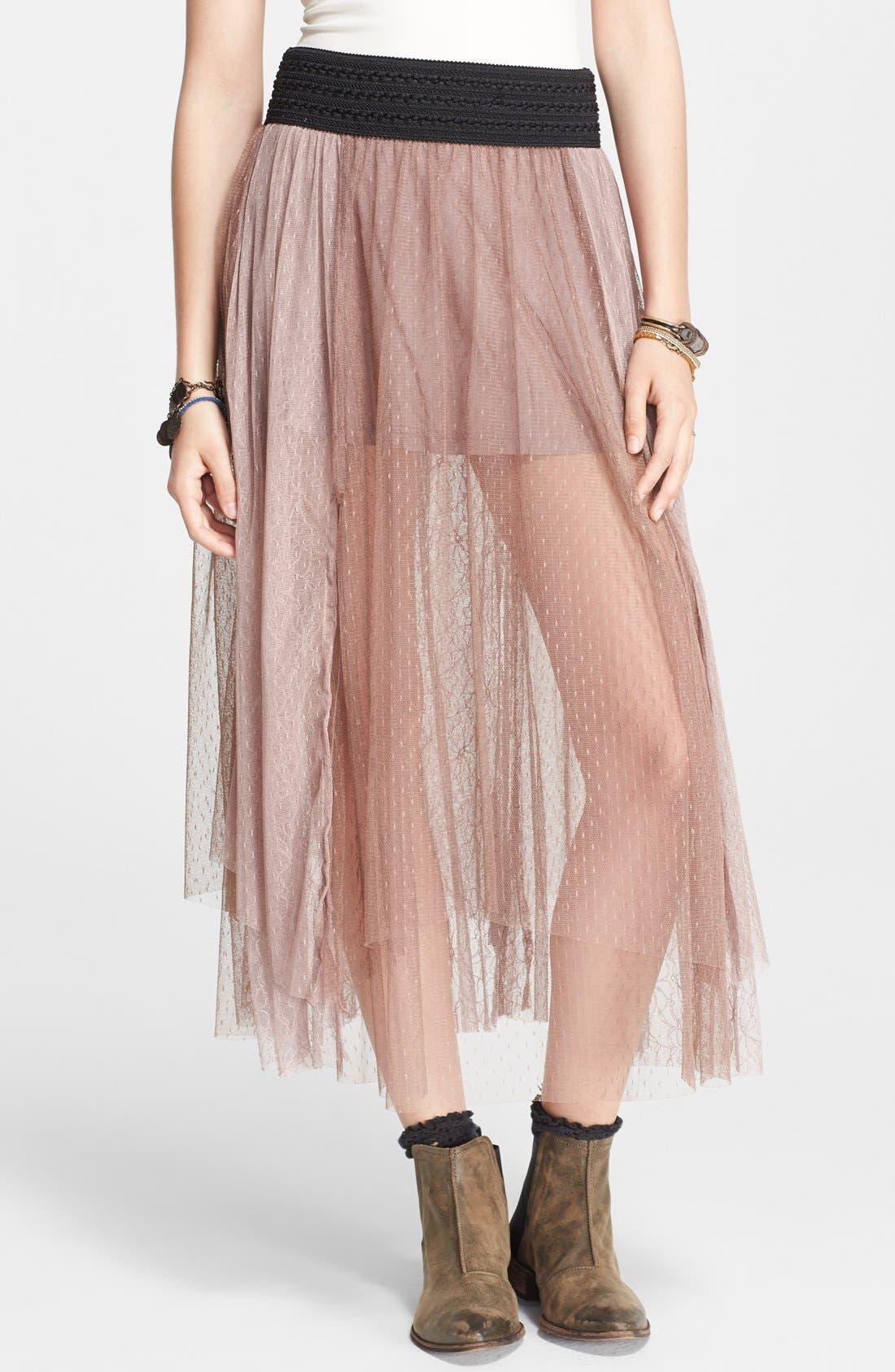 Main Image - Free People 'Sugar Plum' Tutu Skirt