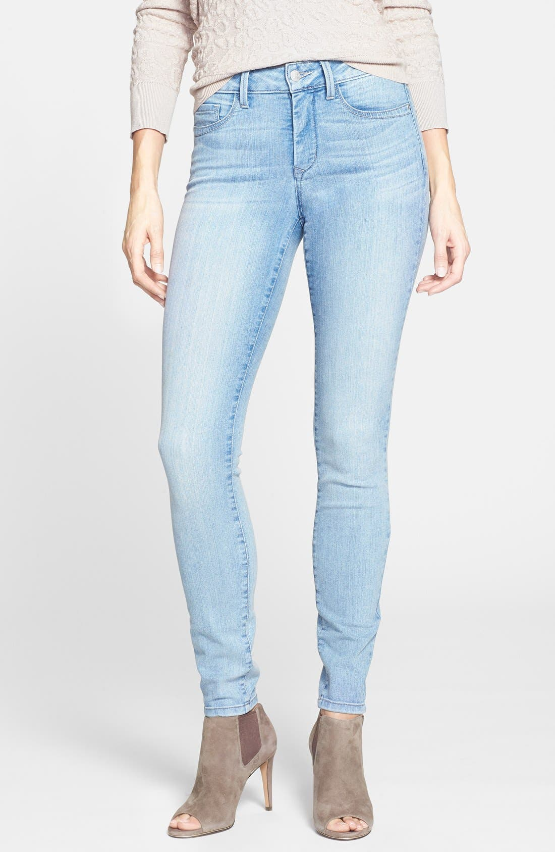 Alternate Image 1 Selected - NYDJ 'Ami' Stretch Skinny Jeans (Manhattan Beach)