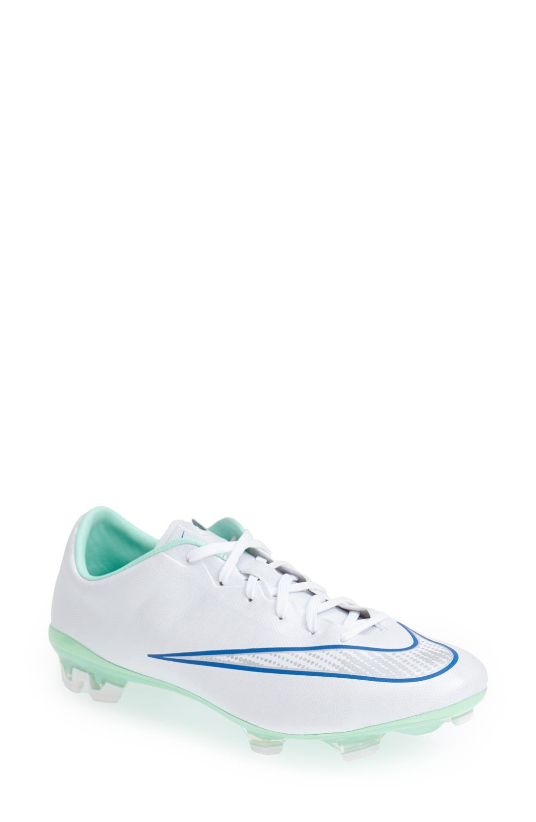 Alternate Image 1 Selected - Nike 'Mercurial Veloce 2' Firm Ground Soccer Cleat (Women)