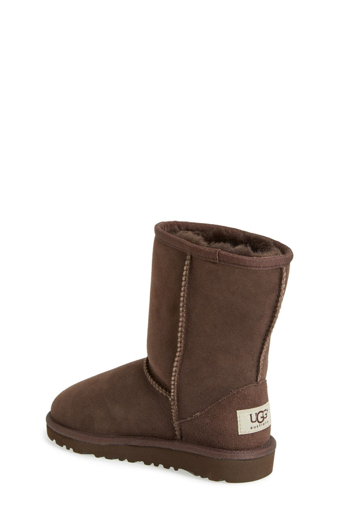 Alternate Image 2  - UGG® Classic Short Boot (Walker, Toddler, Little Kid & Big Kid)