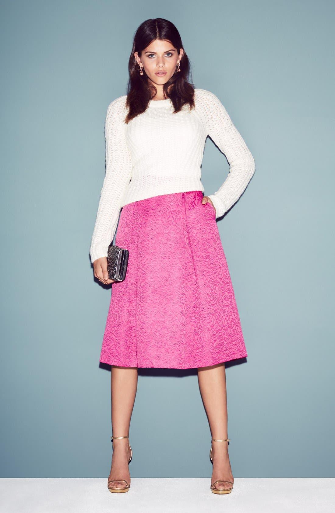 Full Pleat Skirt,                             Alternate thumbnail 5, color,