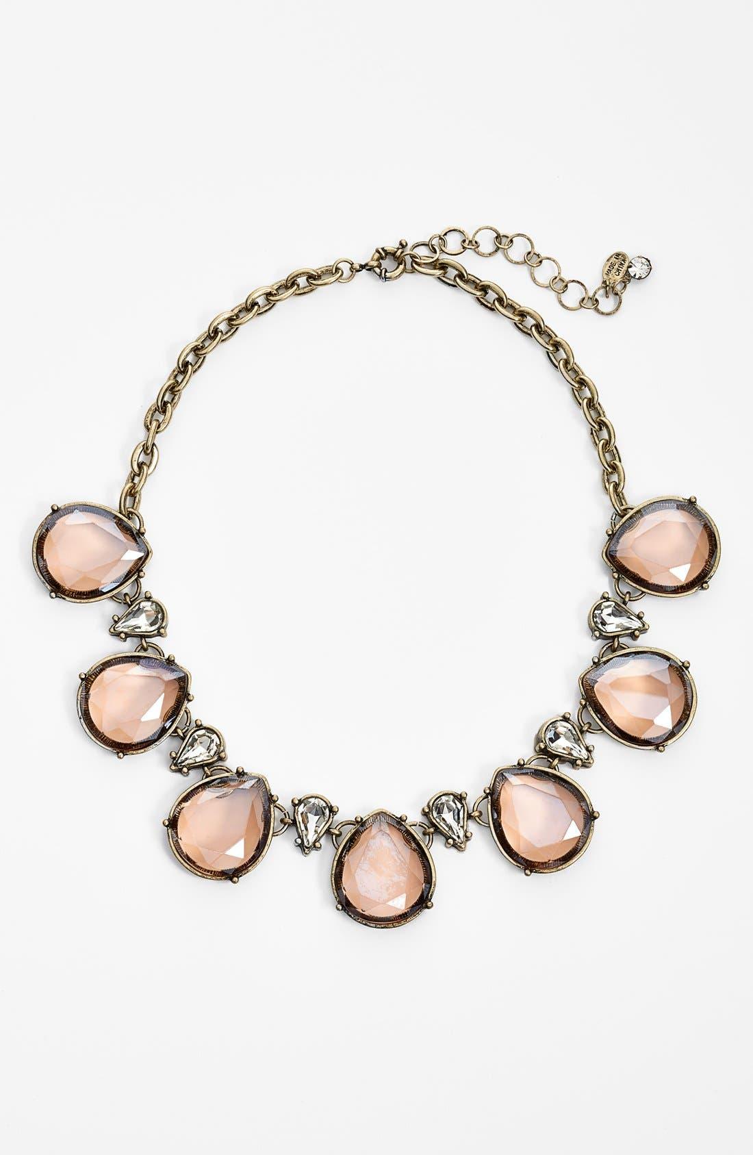 Alternate Image 1 Selected - Robert Rose Tear Drop Collar Necklace