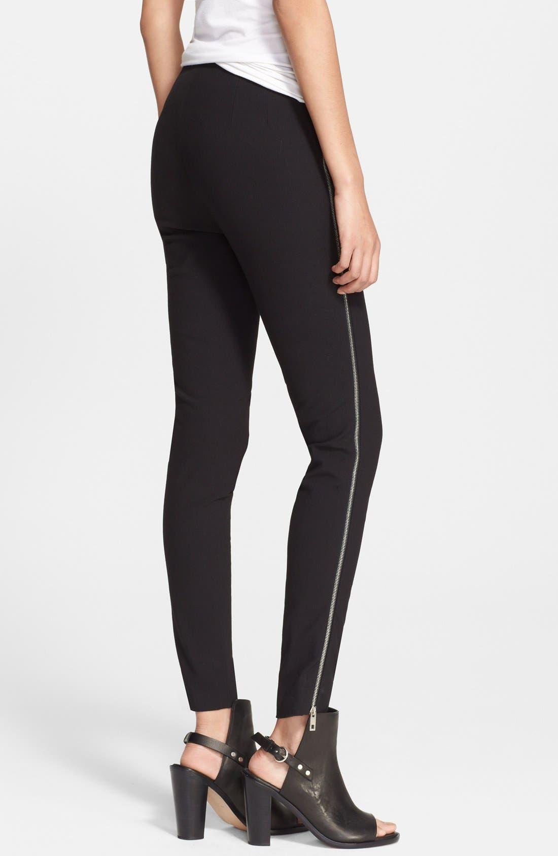 Alternate Image 2  - rag & bone 'Chatel' Side Zip Pants