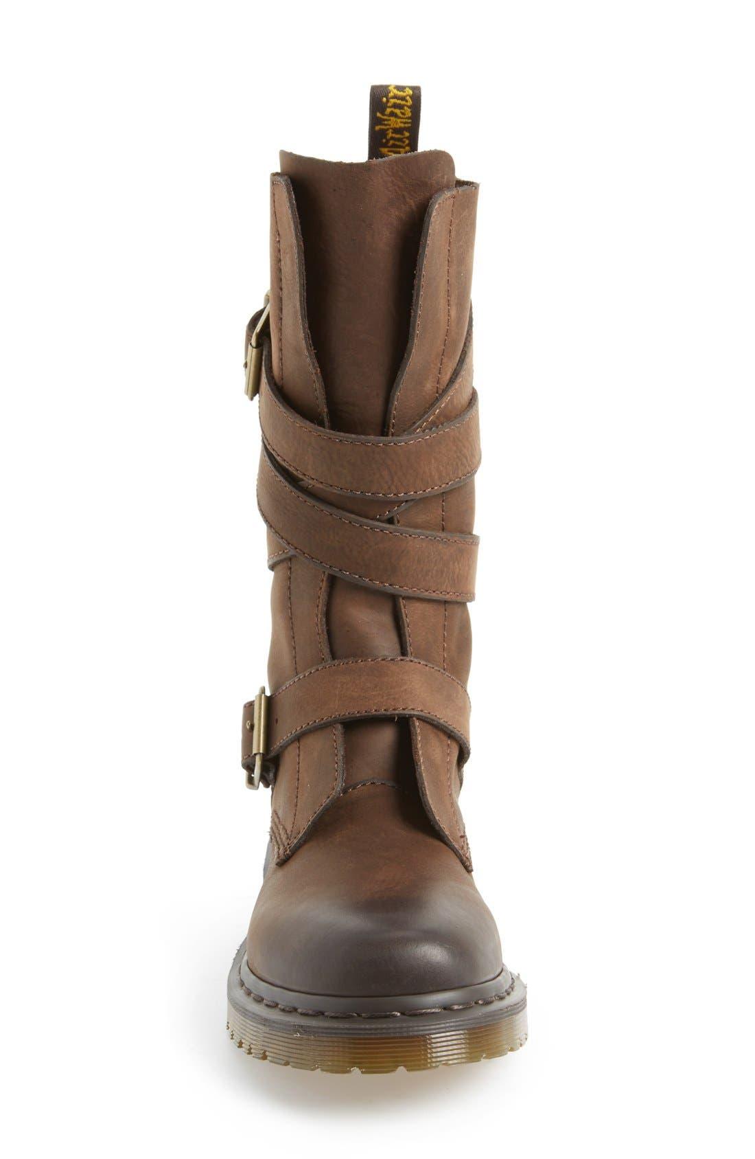 Alternate Image 4  - Dr. Martens 'Lauren' Lug Military Boot (Women)
