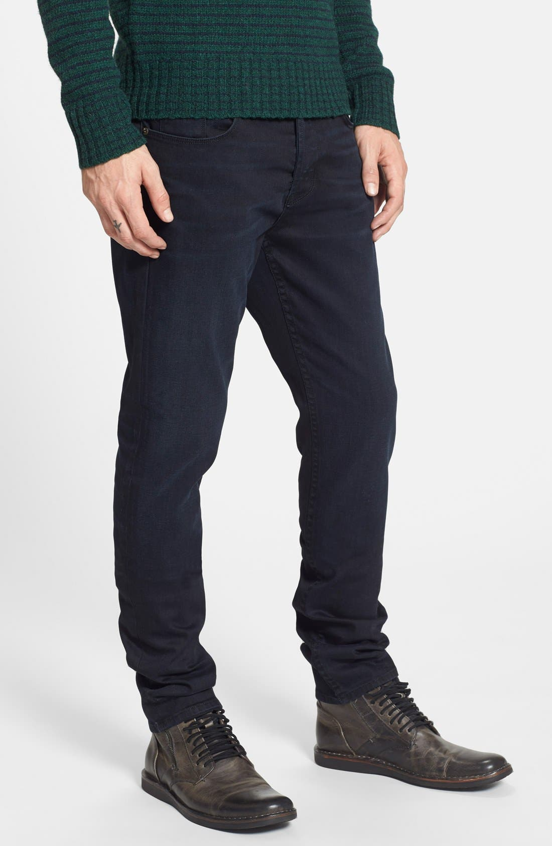 Alternate Image 3  - Hudson Jeans 'Sartor' Slouchy Skinny Fit Jeans (Sanction)