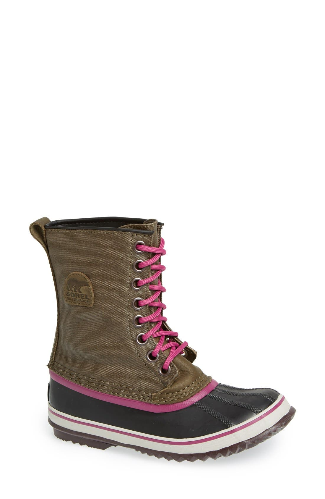 '1964 Premium' Waterproof Boot,                             Main thumbnail 1, color,                             Peatmoss