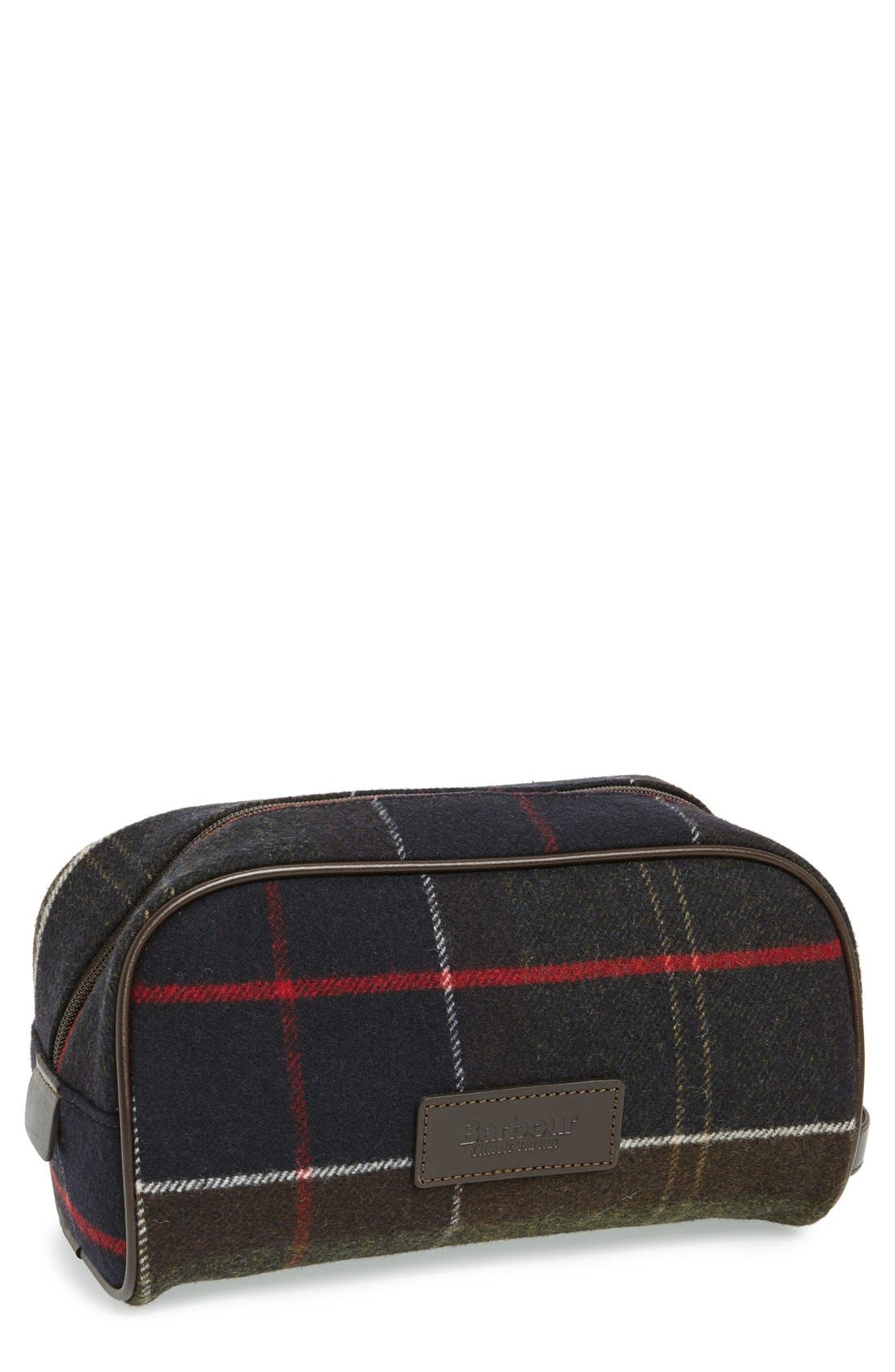 Barbour Tartan Travel Kit
