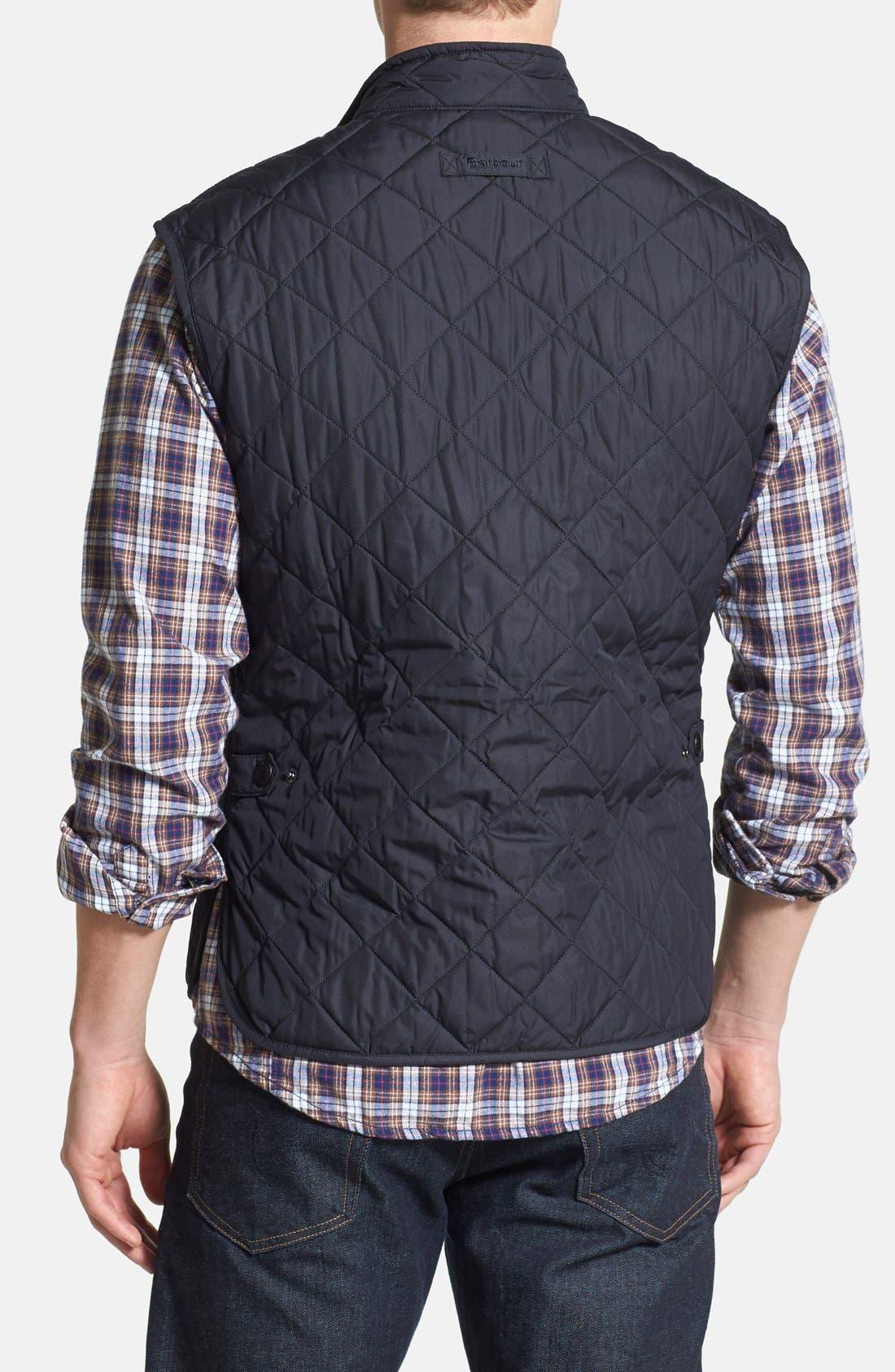 Alternate Image 2  - Barbour 'Lowerdale' Trim Fit Quilted Vest