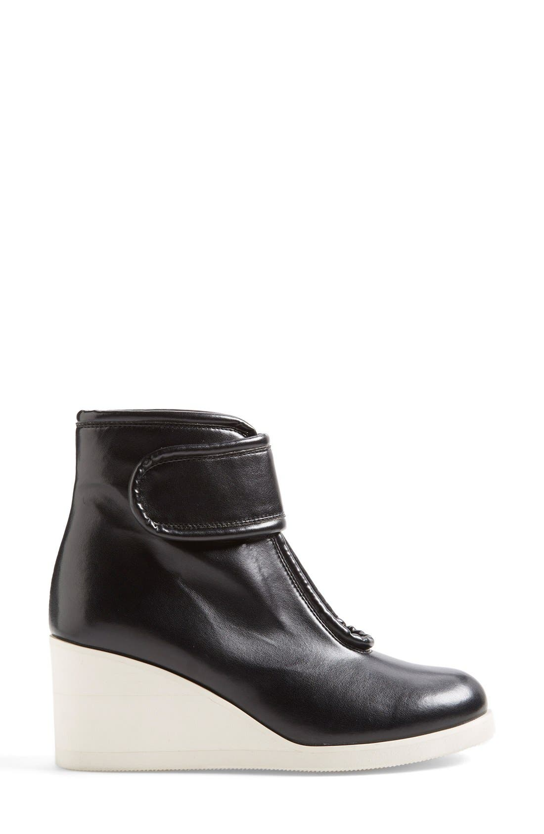 Alternate Image 4  - MM6 Maison Margiela Nappa Leather Wedge Bootie (Women)