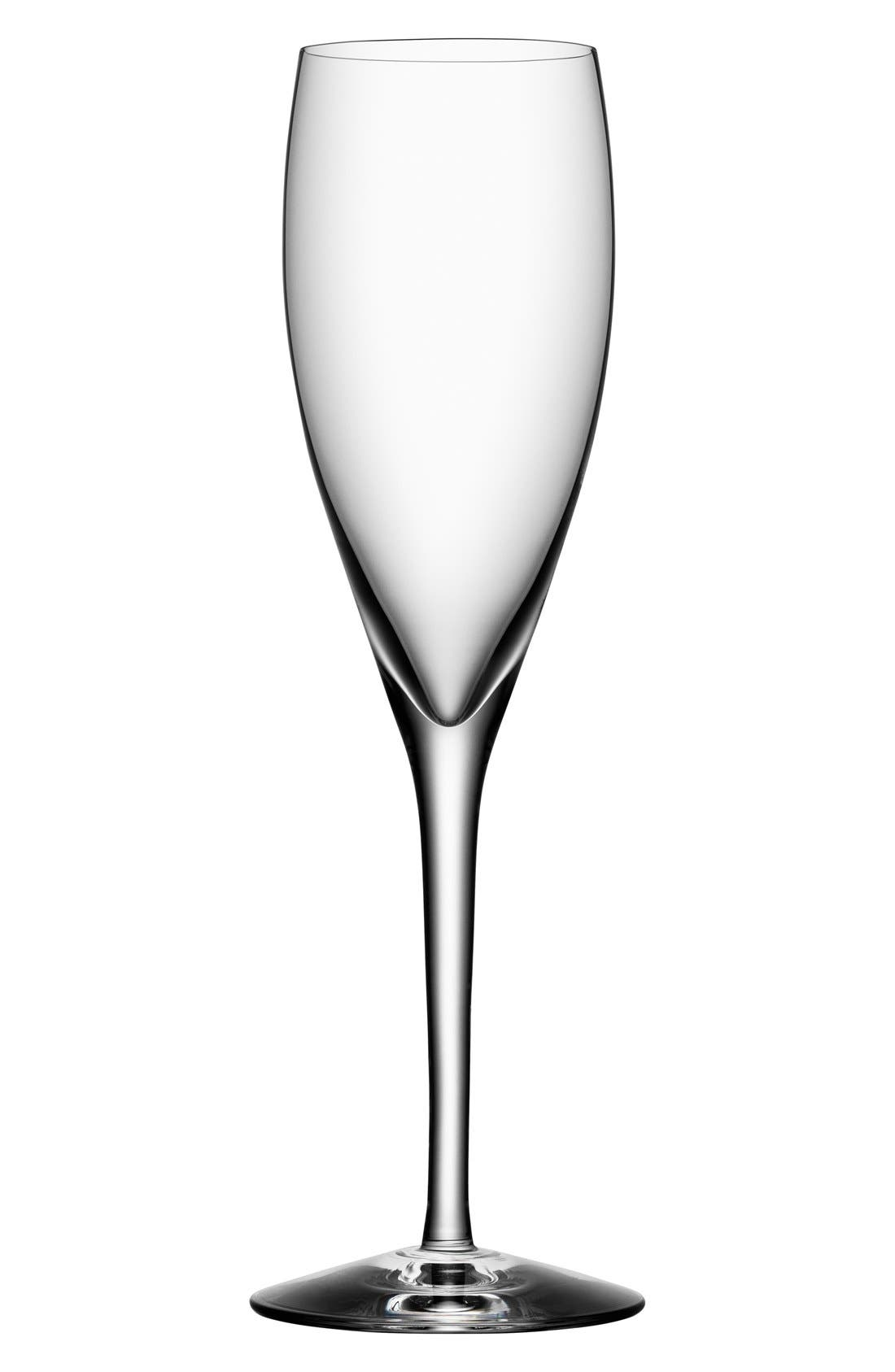 'More' Champagne Flutes,                             Main thumbnail 1, color,                             White