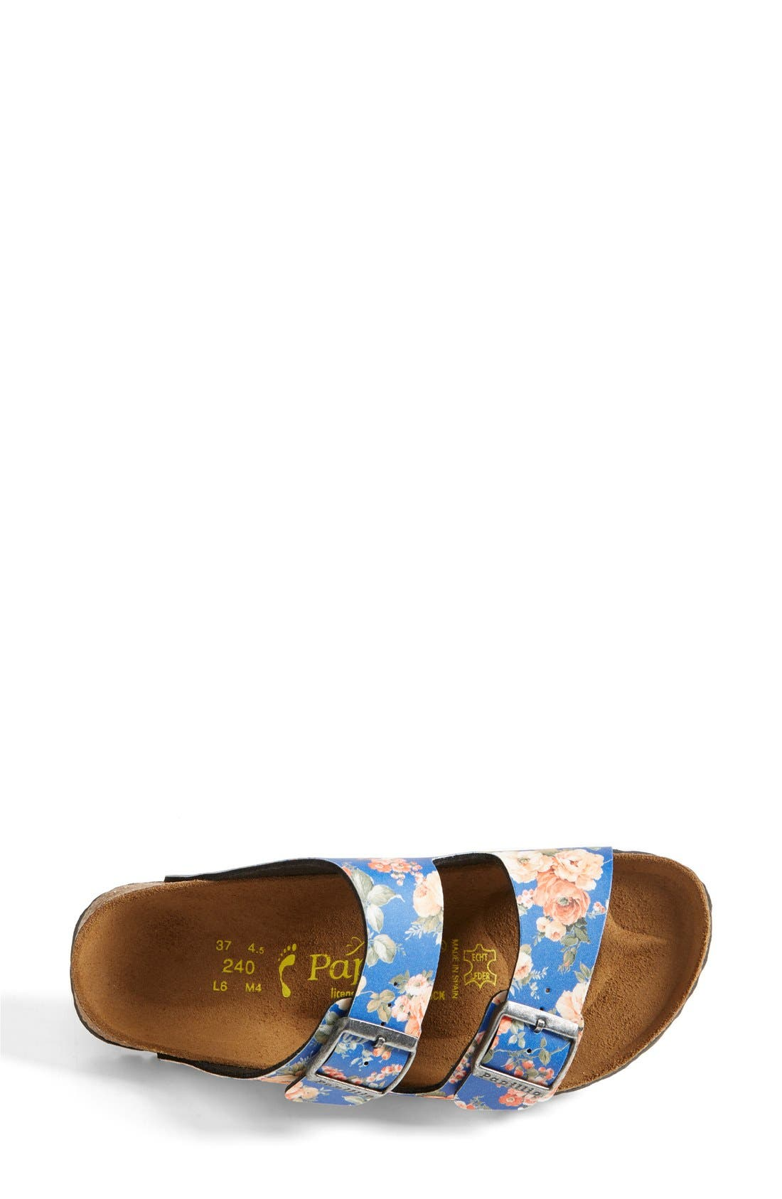 Alternate Image 3  - Birkenstock 'Arizona' Floral Print Sandal (Women)