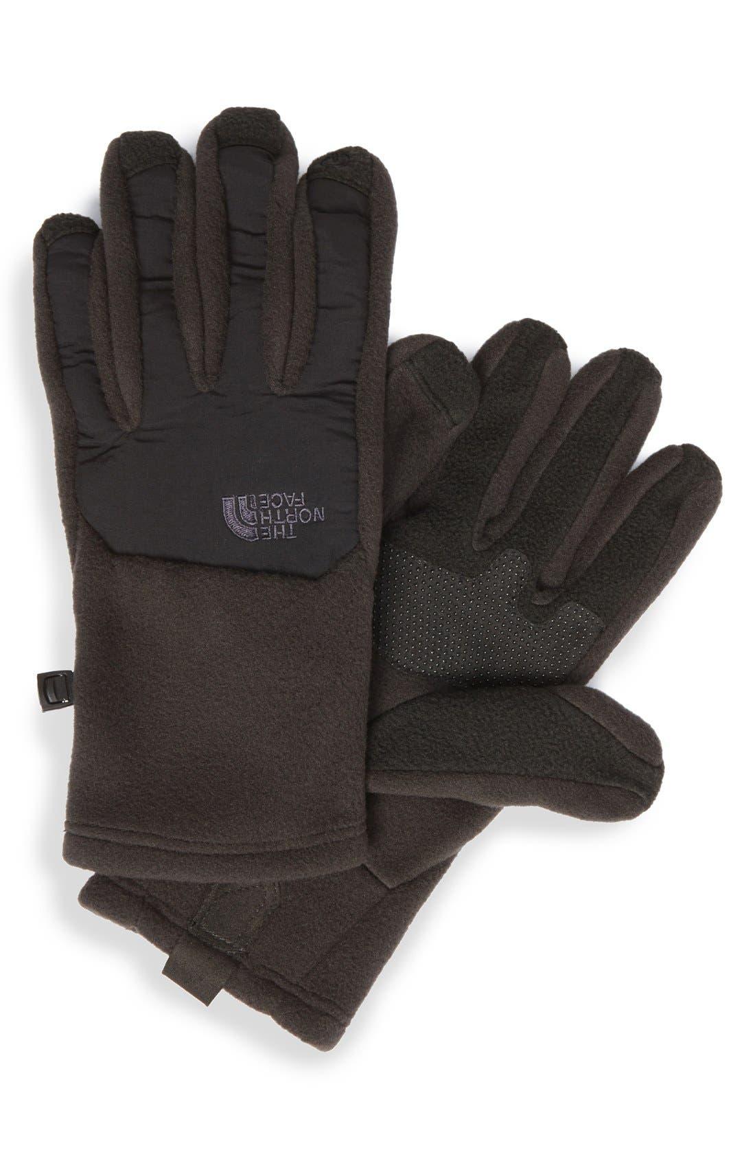 Alternate Image 1 Selected - The North Face 'Denali' E-Tip Gloves