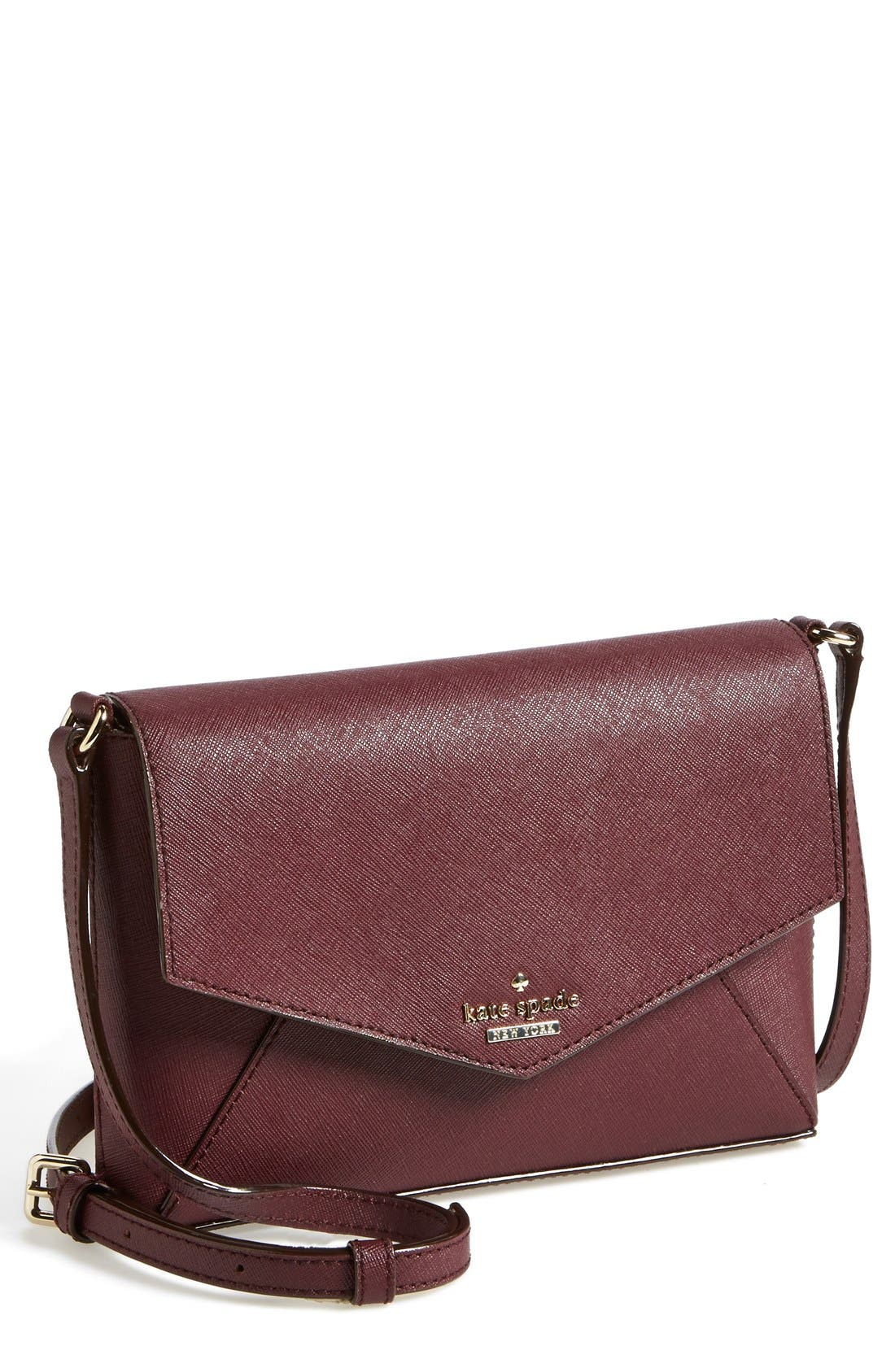 'cedar street - large monday' crossbody bag,                         Main,                         color, Mulled Wine