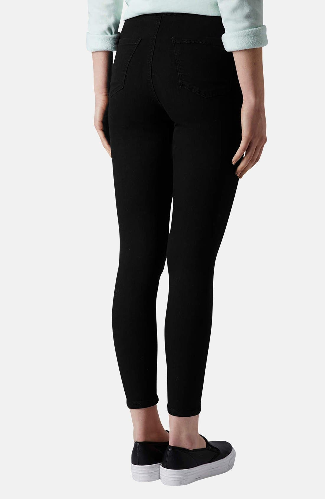 Alternate Image 2  - Topshop Moto 'Joni' High Rise Skinny Jeans (Regular & Petite)