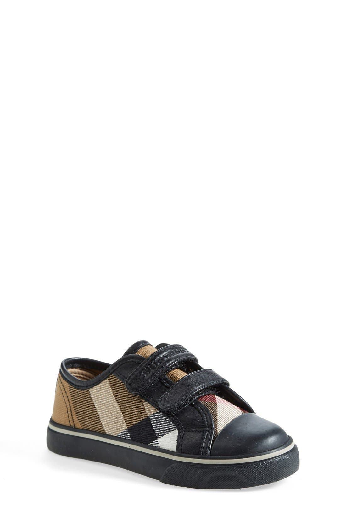 Alternate Image 1 Selected - Burberry 'Pete' Sneaker (Baby, Walker, Toddler &  Little Kid)