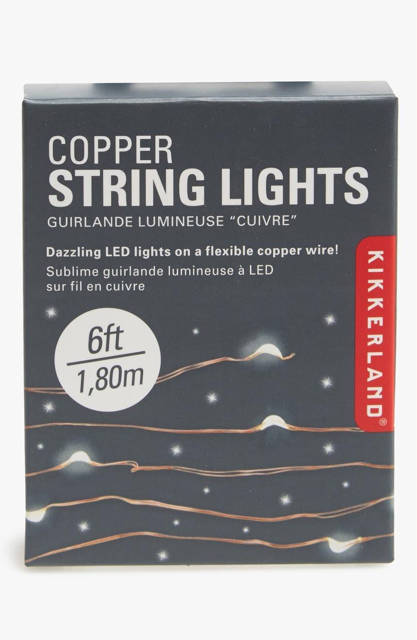 Kikkerland Design Copper Wire LED Lights | Nordstrom