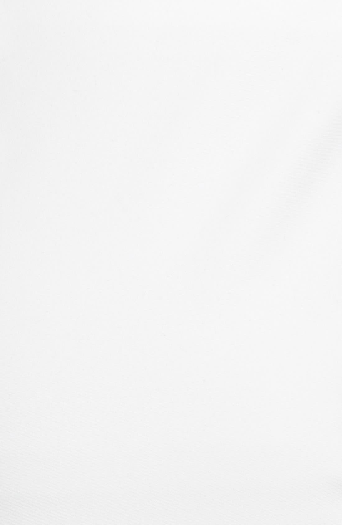 'Melissa' Slim Techno Cotton Pants,                             Alternate thumbnail 3, color,