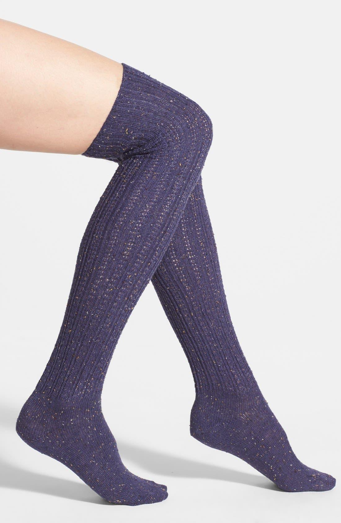 Alternate Image 1 Selected - Free People Speckled Over the Knee Socks