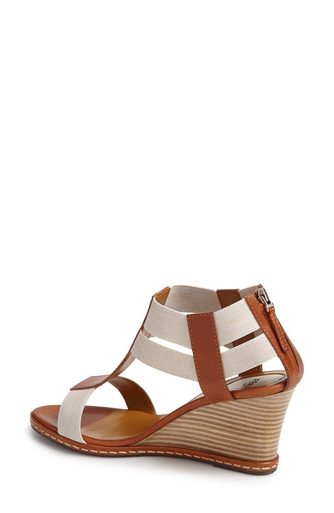 Alternate Image 2  - Fendi 'Carioca' Wedge Sandal (Women)