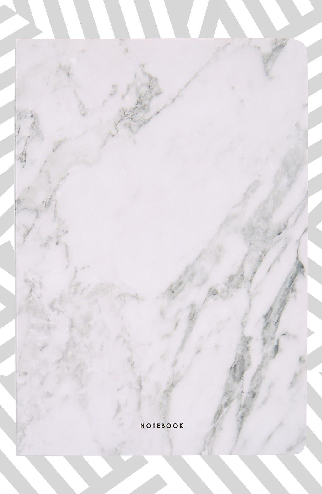 Alternate Image 1 Selected - Poketo 'Marble' Blank Notebook